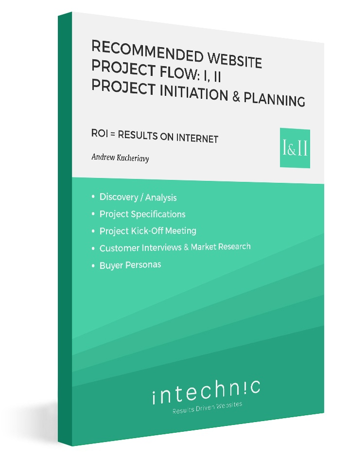 19_-_Recommended_Website_Project_Flow-_I_II_Project_Initiation__Planning