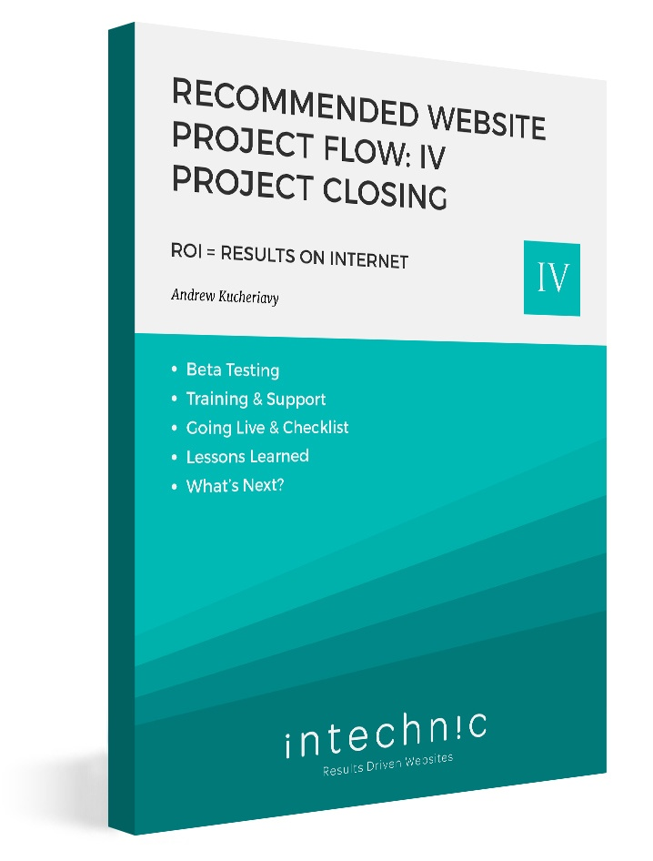 21_-_Recommended_Website_Project_Flow-_IV_Project_Closing