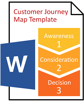 Download The Customer Journey Map Template - Customer journey mapping book