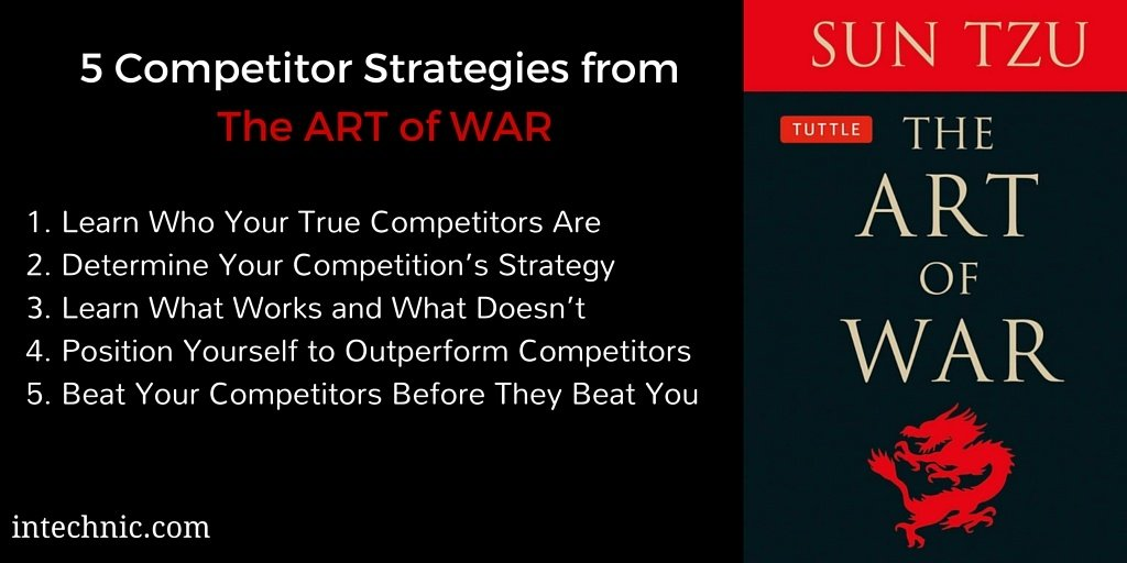 5 Competitor Strategies from The Art of War