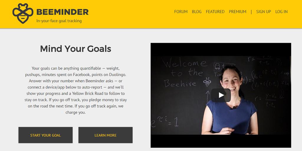 Beeminder - Goal Setter