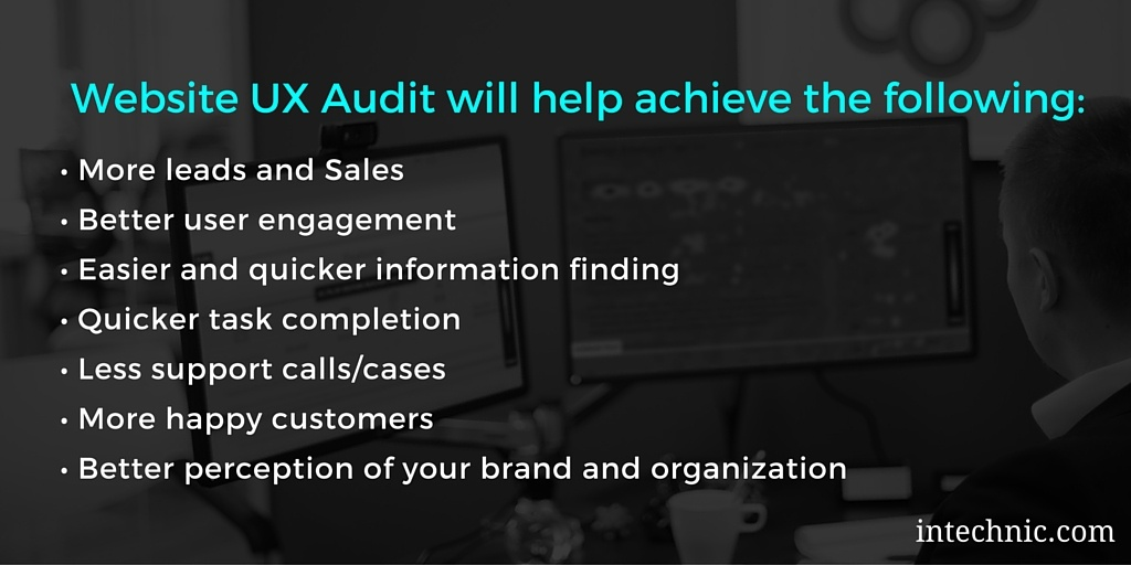 Benefits of a UX Audit