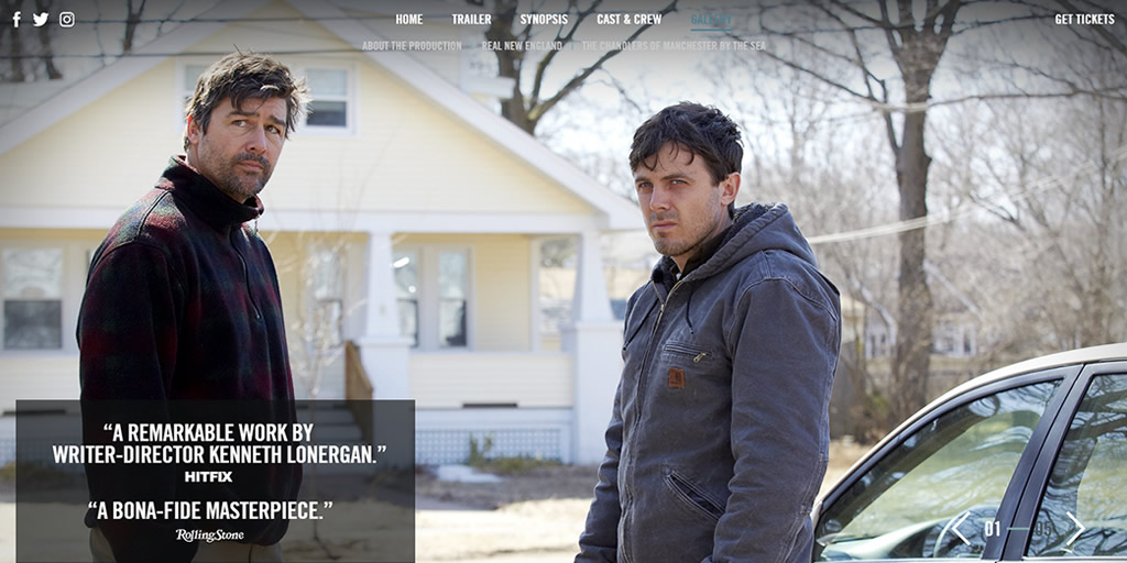 Best Writing - Manchester by the Sea Movie Website