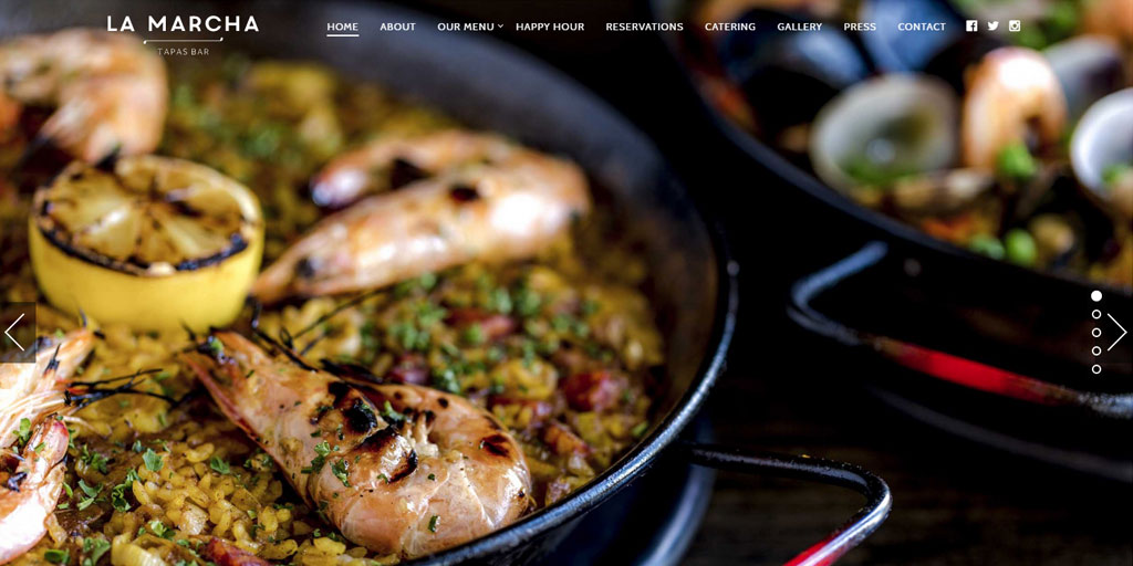 Best restaurant website design inspirations_11_lamarchaberkeley