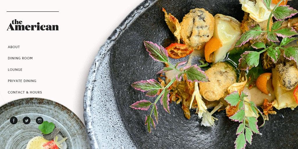 Best restaurant website design inspirations_16_theamericankc