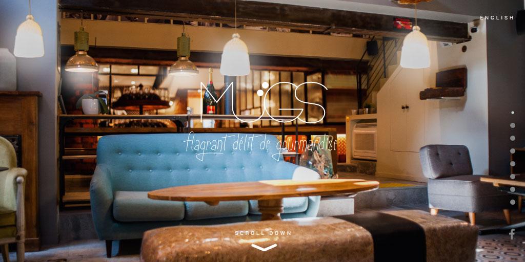 Best restaurant website design inspirations_1_le-mugs