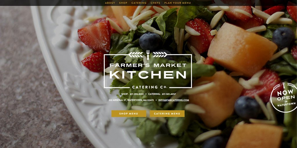 Best restaurant website design inspirations_24_fmkcatering