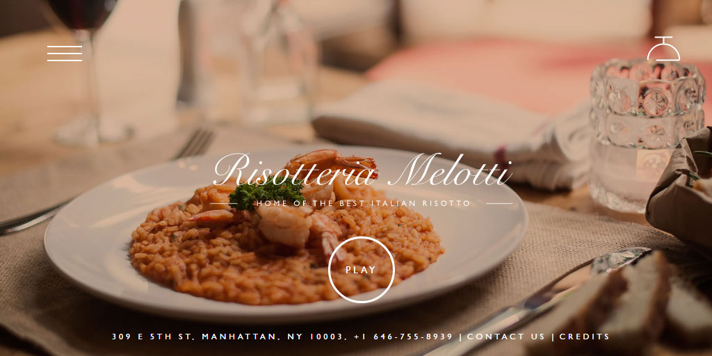 Best restaurant website design inspirations_3_risotteria-melotti