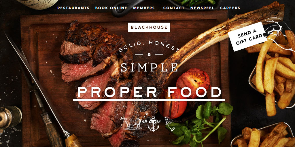 Best restaurant website design inspirations_5_blackhouse