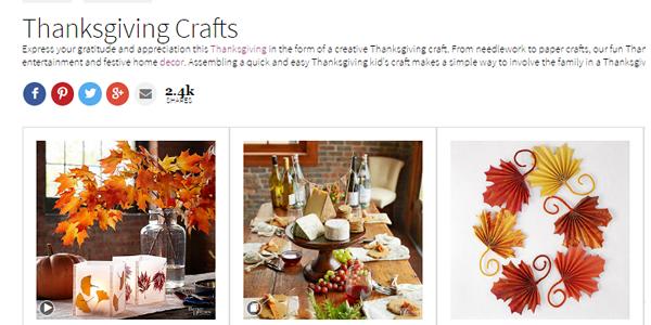 Better Homes & Gardens Thanksgiving Crafts - Decor