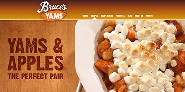 Bruce's Yams - Yam Recipes 2016 - food