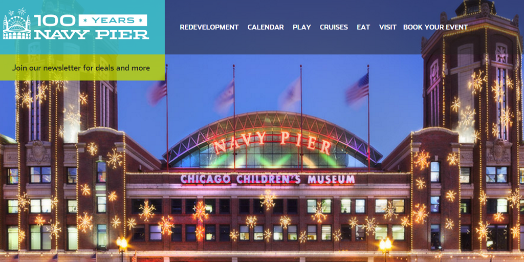 Chicago Navy Pier - New Year's Eve