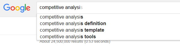 Using the Google Suggest Tool