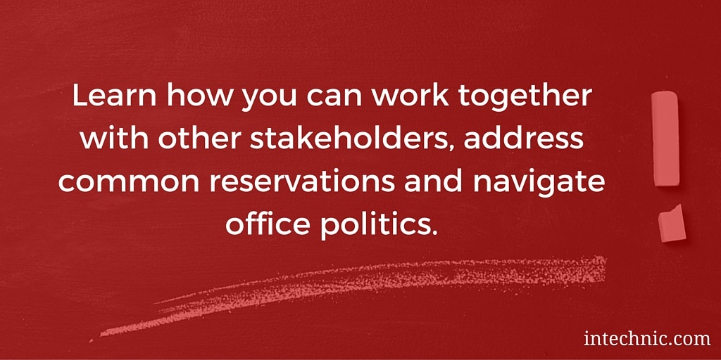 Learn how you can work together with other stakeholders