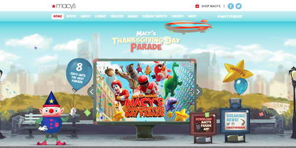 Macy's Thanksgiving Day Parade_Website