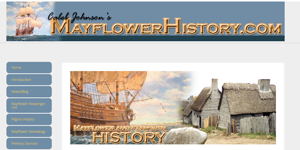 Mayflower History Thanksgiving_Website