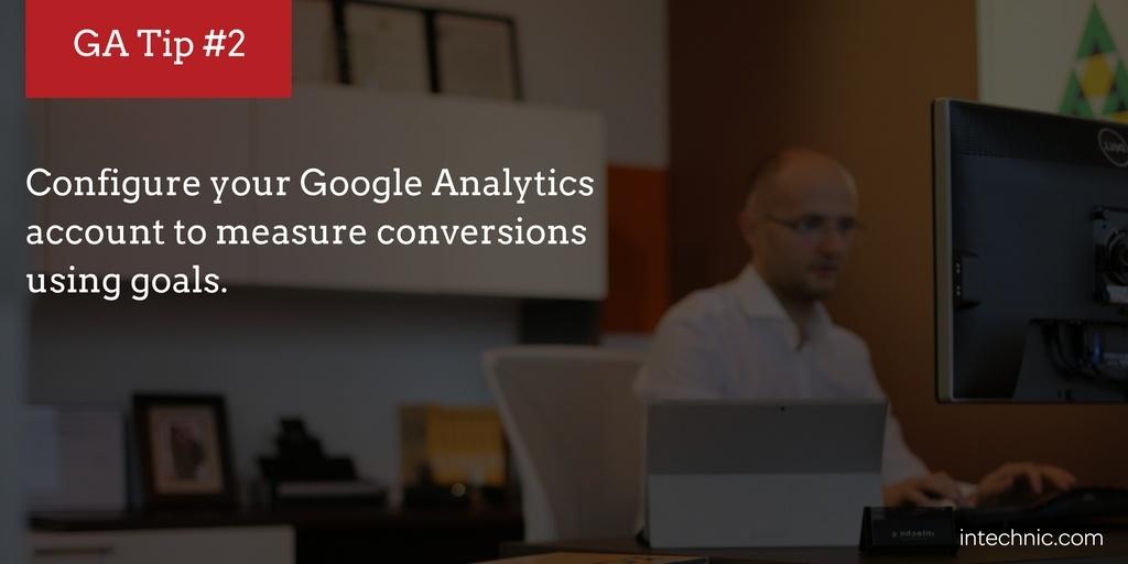 Measure conversions using goals