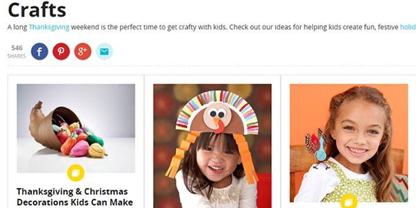 Parents - Thanksgiving Crafts - Decor