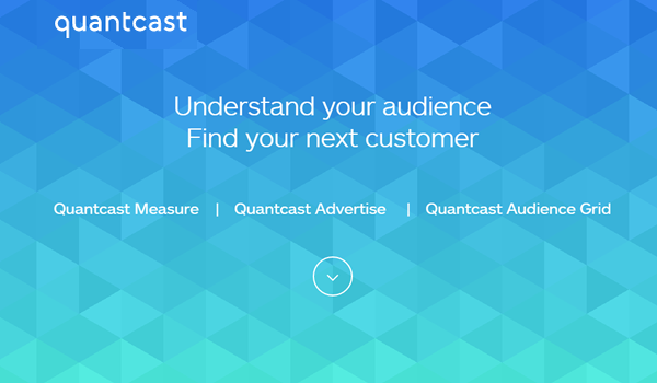 Quantcast tool for website competitive analysis