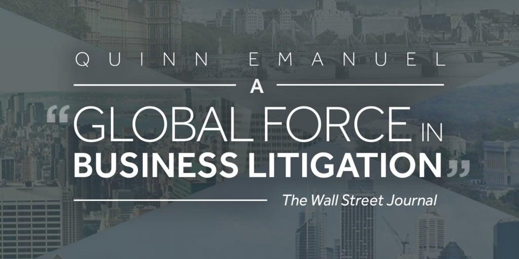 Quinn Emanuel Corporate Website