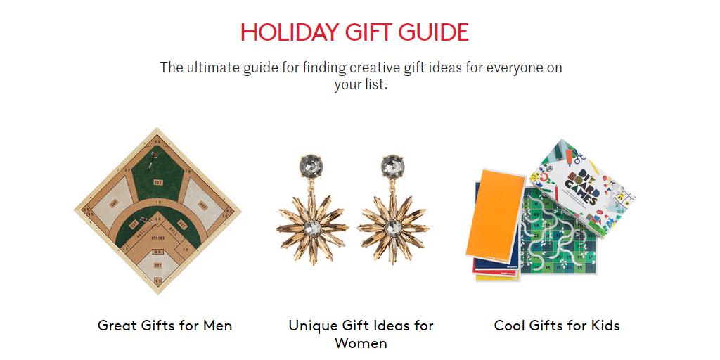 Christmas Gift Websites - Christmas Gift Ideas