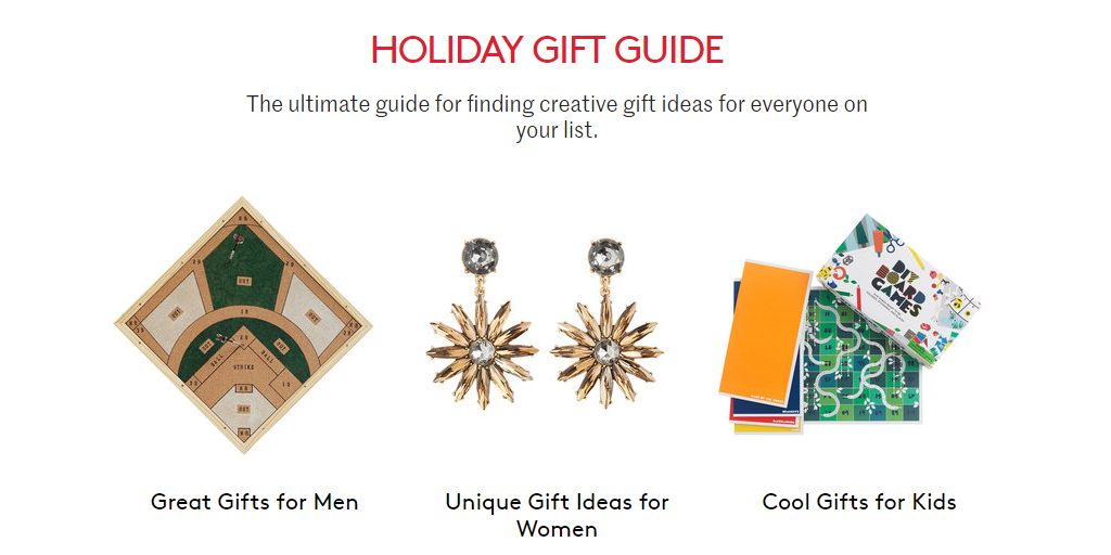 Real Simple Holiday Gift Guide