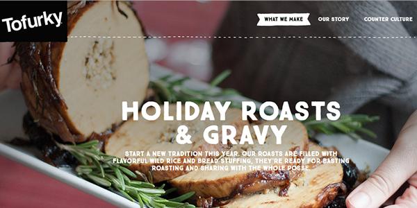 Tofurky Thanksgiving Website Thanksgiving - food