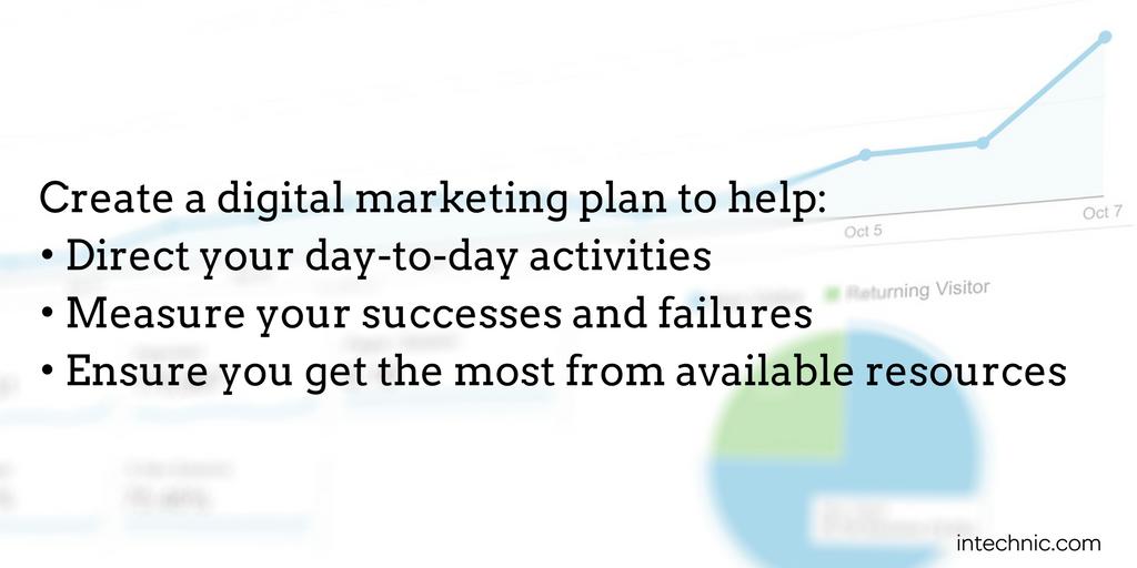 Why you should create a digital marketing plan
