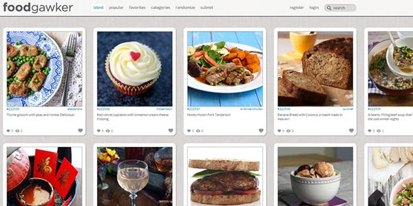 Top 50 most appetizing designs for food websites food gawker forumfinder Images