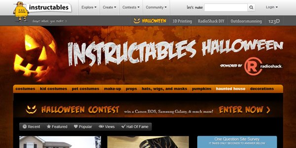 Top 25 Websites to Get You Ready for Halloween