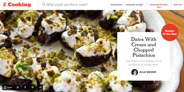 Top 50 most appetizing designs for food websites 1 nyt cooking forumfinder Gallery