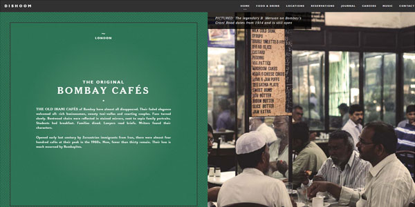 Top 50 best examples of websites using typography for Chris wilhite design