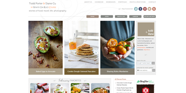 Top 50 Most Appetizing Designs for Food Websites