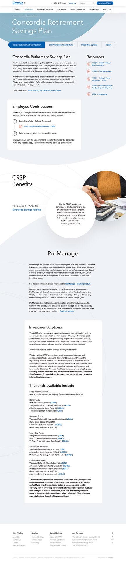 Insurance UX Website Design Case Study - Psychology of Shapes - Page 2