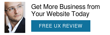 Get a Website Audit from a UX Master  LEARN MORE