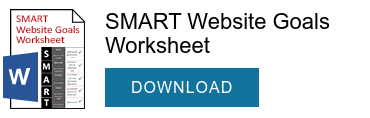 SMART Website Goals Worksheet  DOWNLOAD