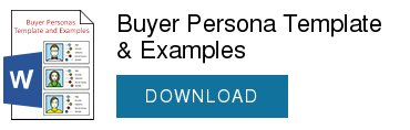 Buyer Persona Template & Examples  DOWNLOAD