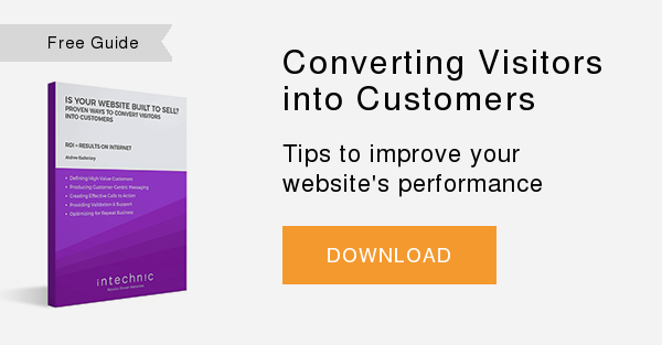 Free Guide   Converting Visitors into Customers  Tips to improve your website's performance  DOWNLOAD
