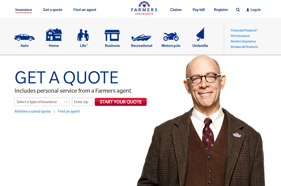 Farmers Insurance Quote Common Insurance And Insurtech Website Ux Problems And How To Fix Them