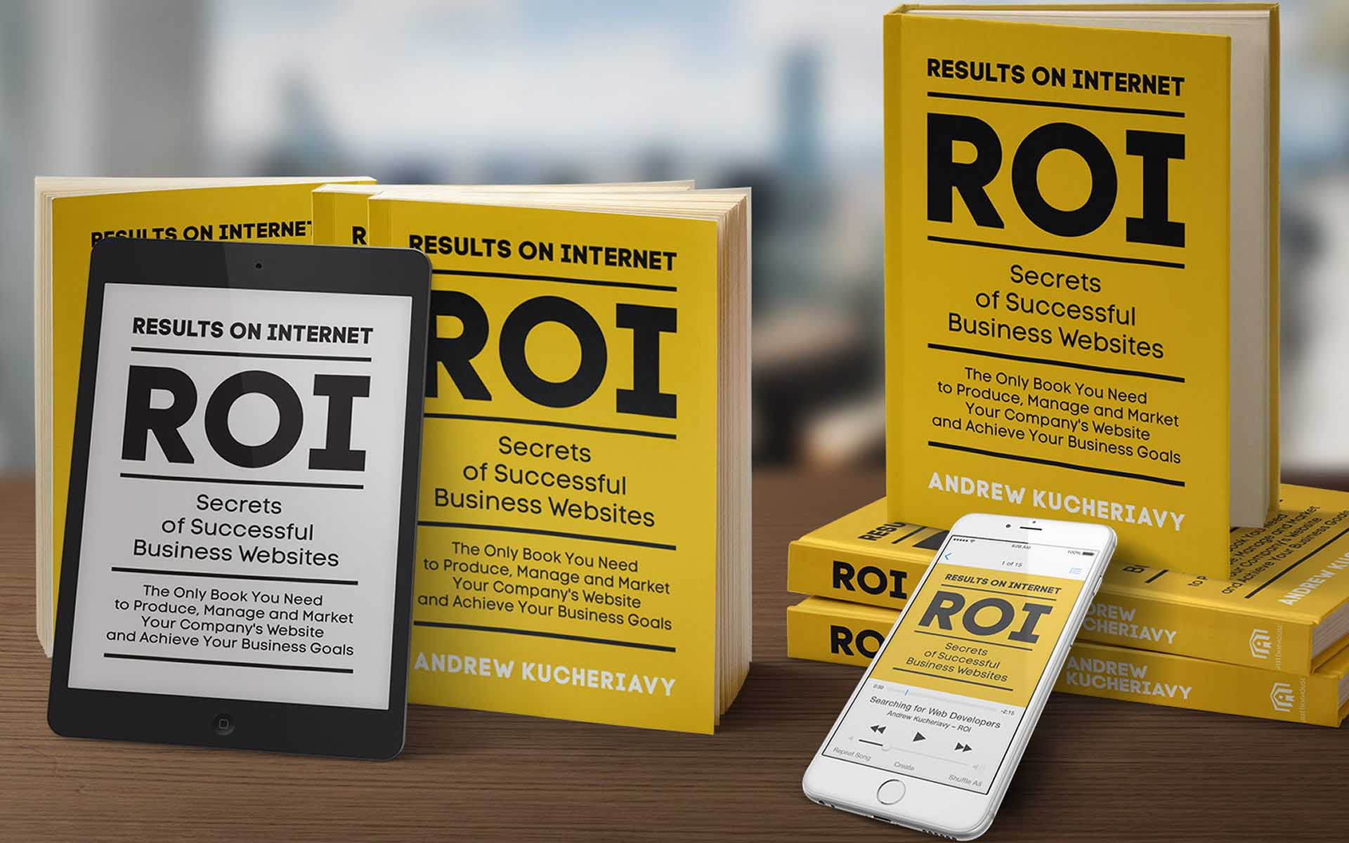 Results on Internet (ROI) Book is Published by Intechnic