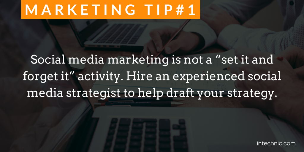 """1 - Social media marketing is not a """"set it and forget it"""" activity.png"""
