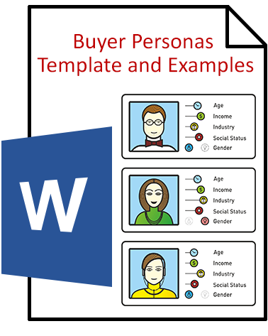 Buyer Persona Template | Download The Buyer Persona Template Examples