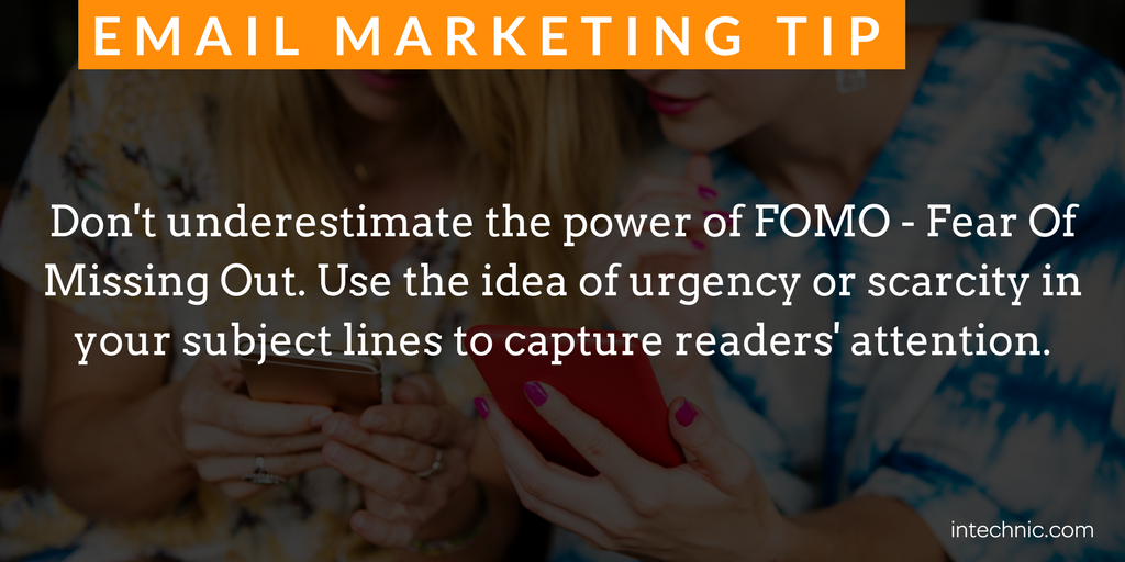 Don't underestimate the power of FOMO