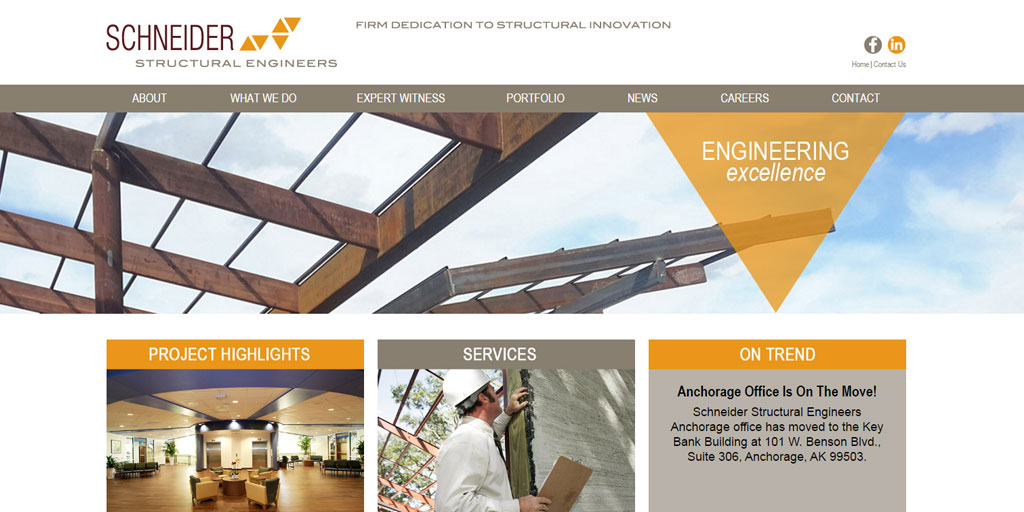 Best Engineering Sites - Schneider Structural Engineers