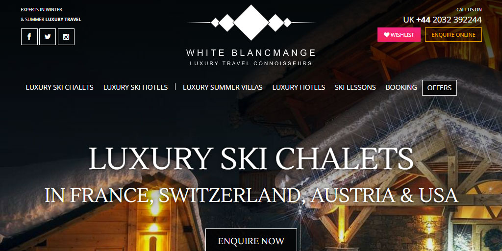 Luxury Ski Chalets