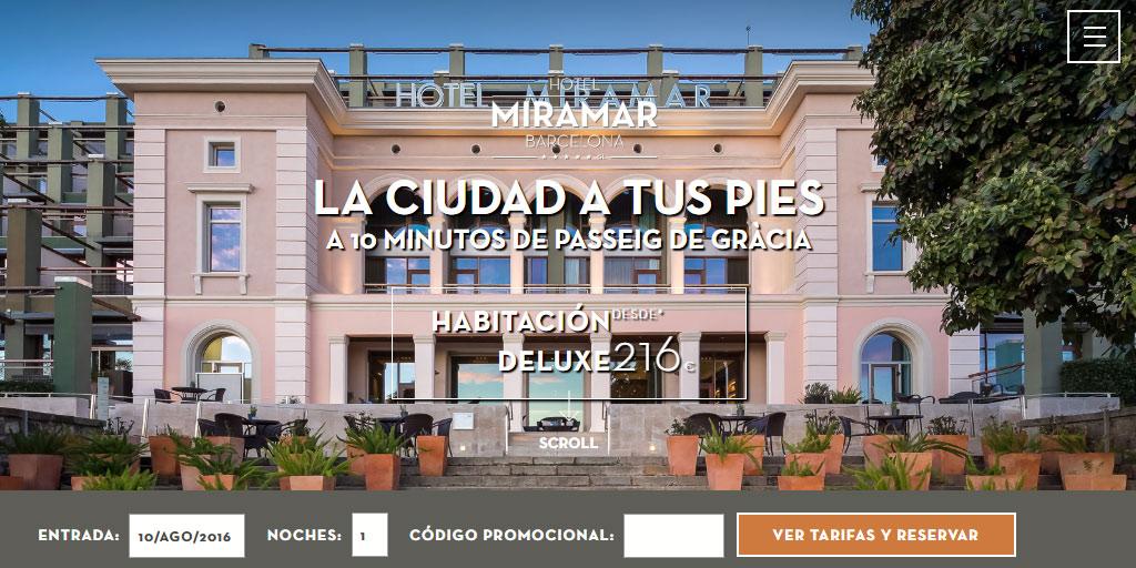 Hotel de lujo 5 estrellas en Barcelona