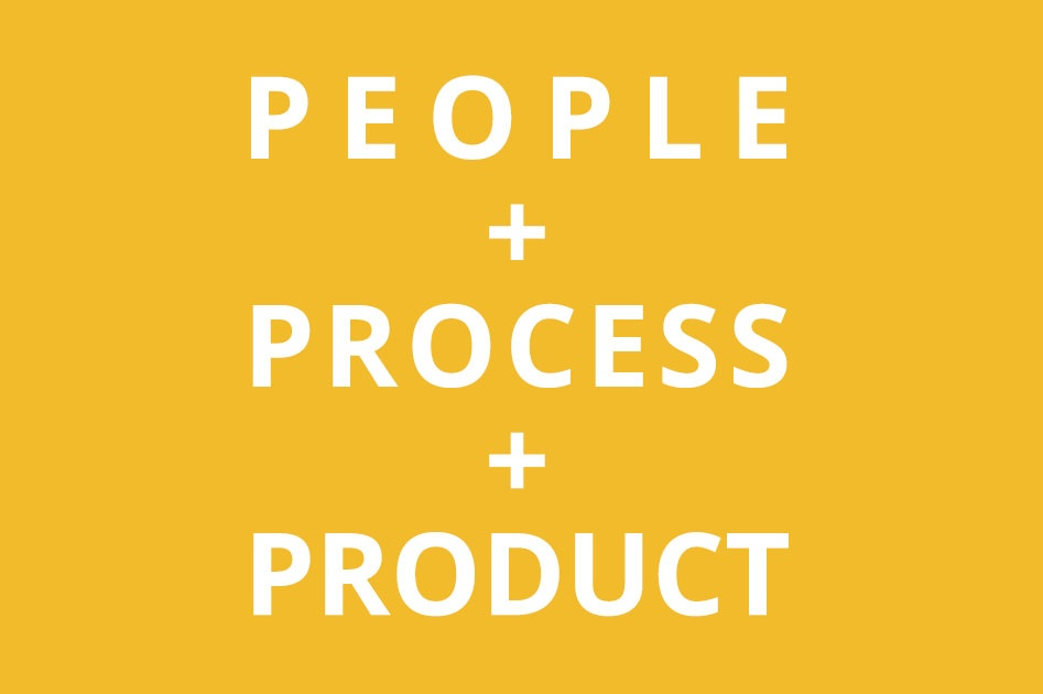 People. Process. Product. Slide 1